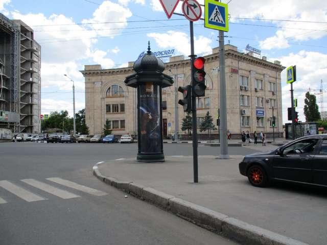С Вернадського вул. - Гагаріна просп., (колона) (сторона С)