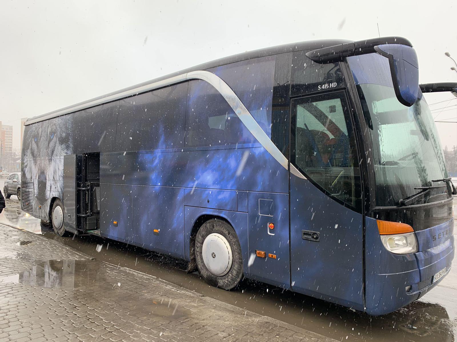 Автомобильная пленка для автобуса