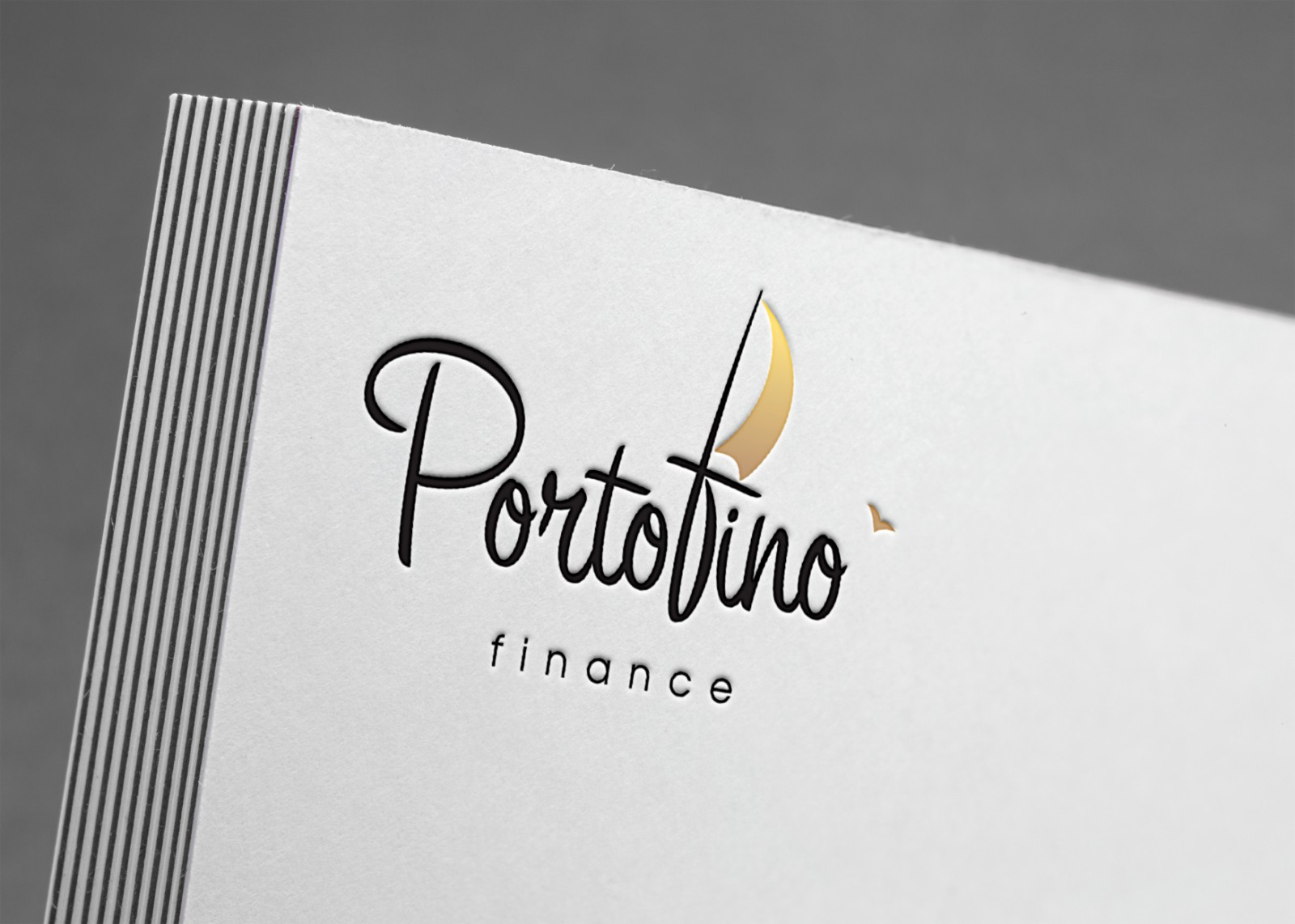 Создание логотипа для Portafino