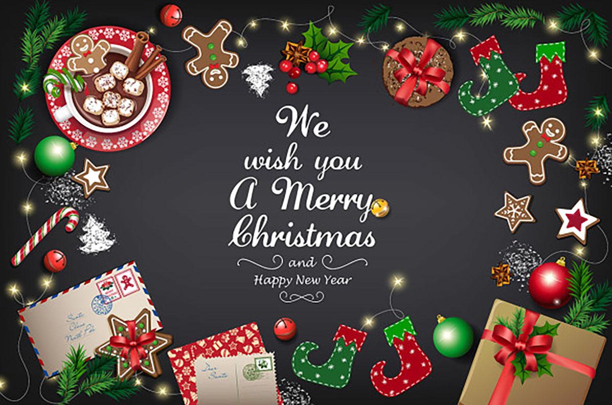 Скатерть Merry Christmas