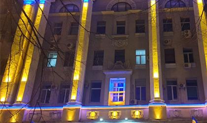 Освещение фасада Харьков