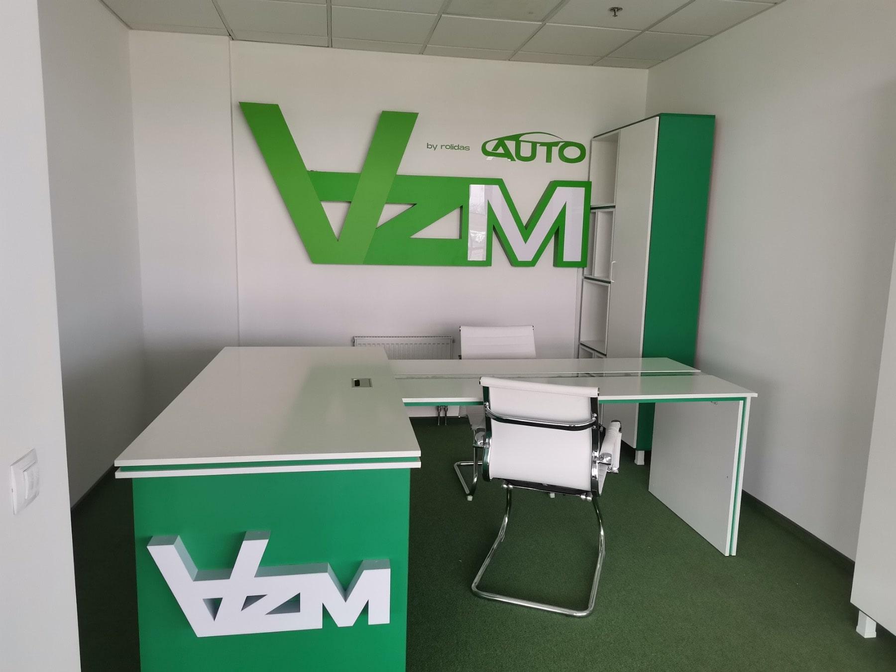 Вывески для офиса для AZM AUTO