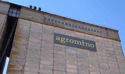 Печать на баннере и монтаж для Agromino